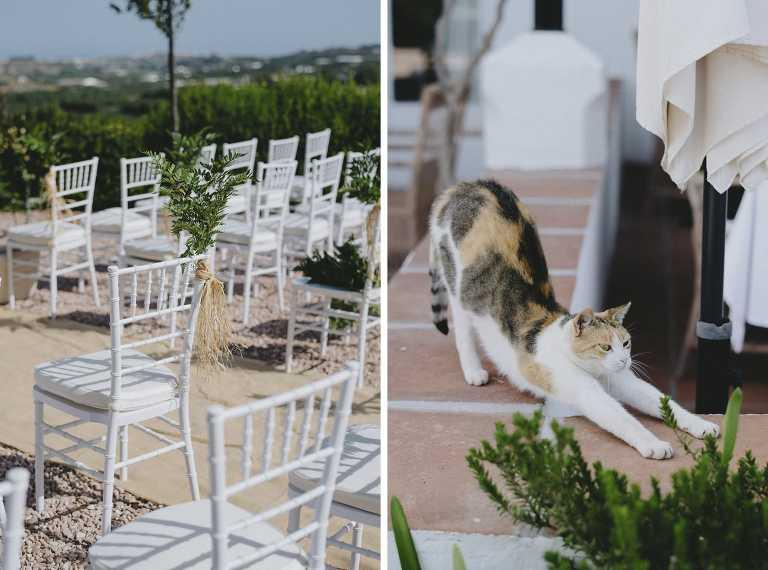 Wedding at the Hotel Cortijo Bravo in Malaga