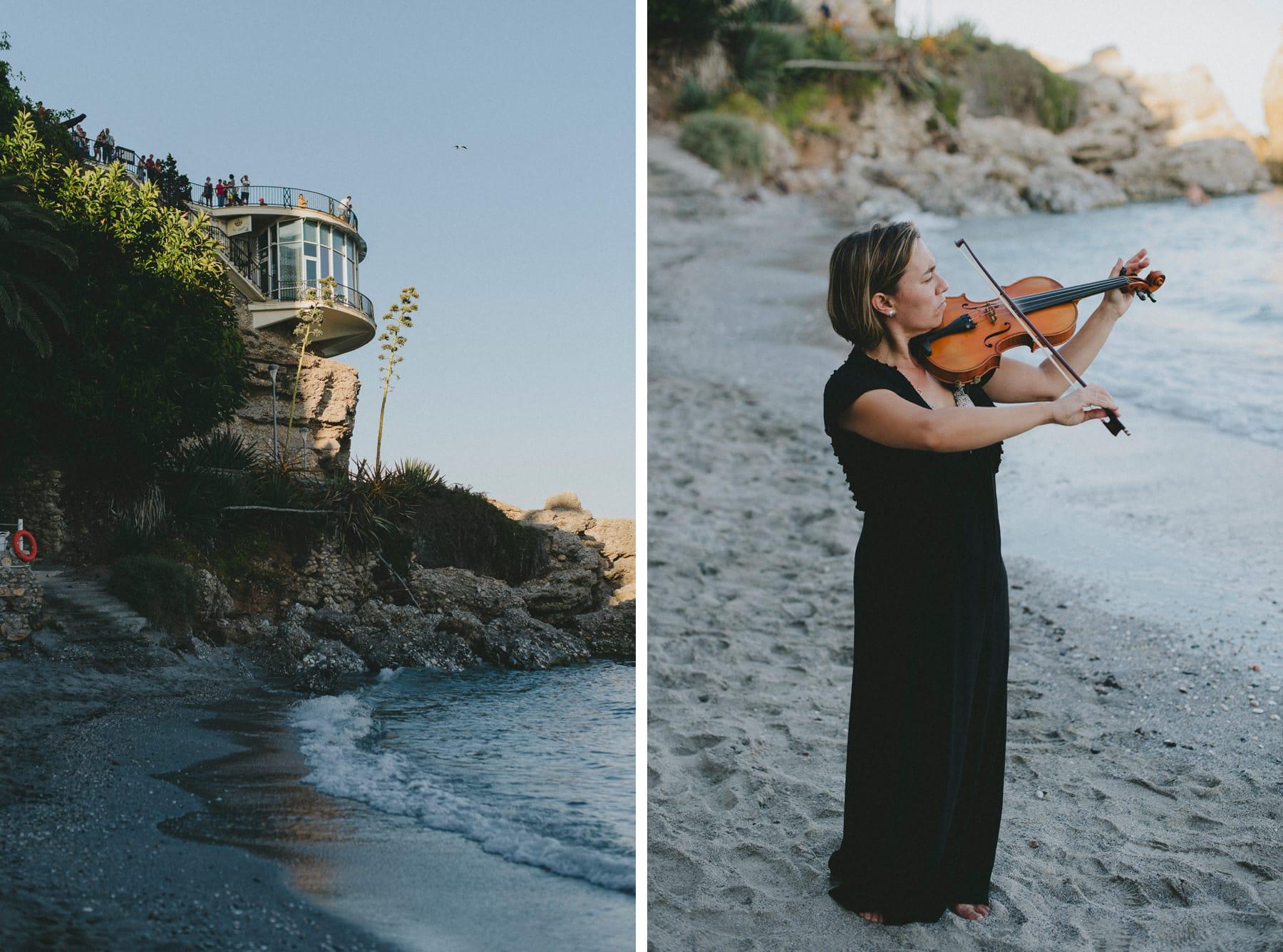 Violinist Naiara Castillejo