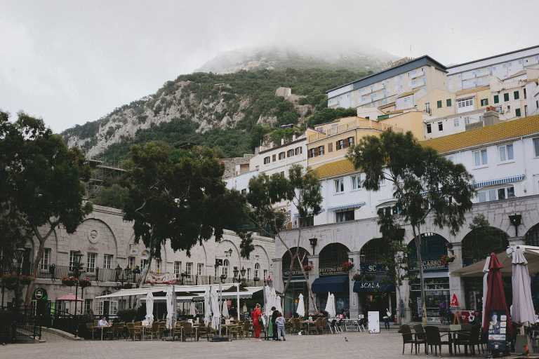 Destination wedding in Gibraltar