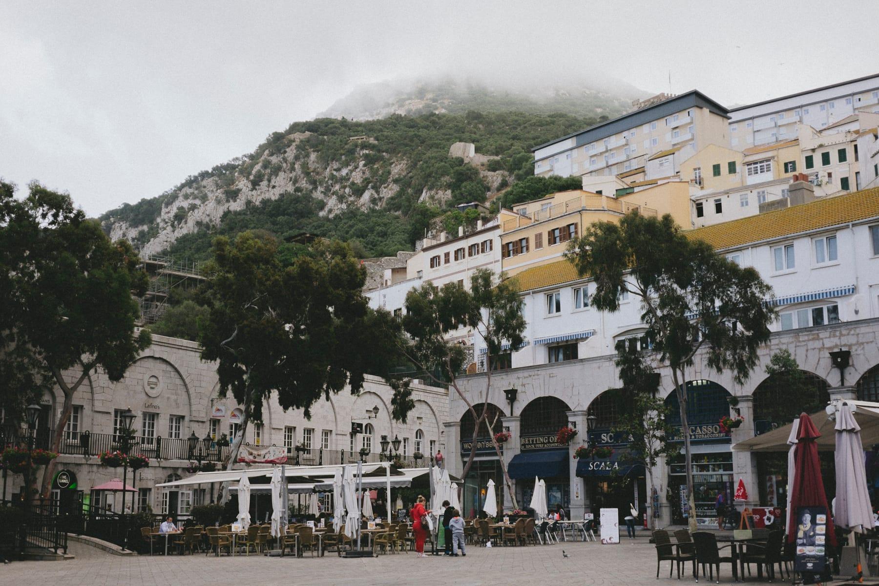 Destination wedding in Gibraltar
