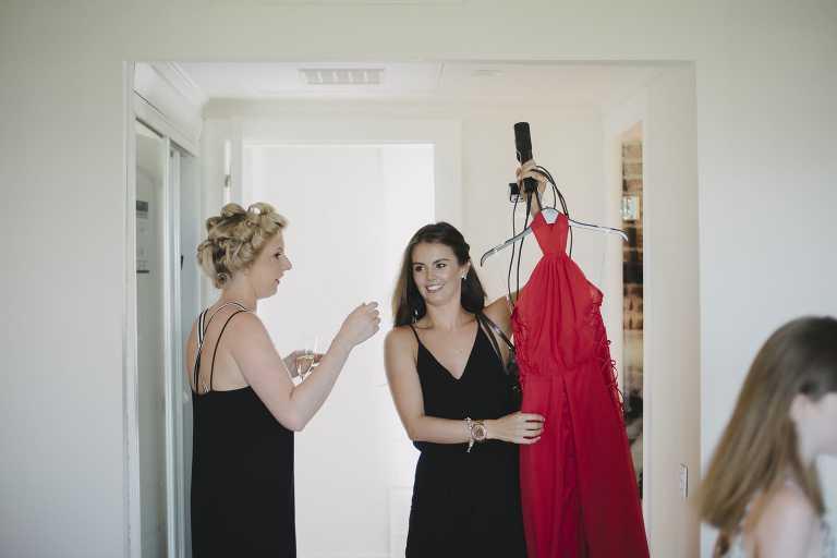 Getting ready for a wedding in Marbella
