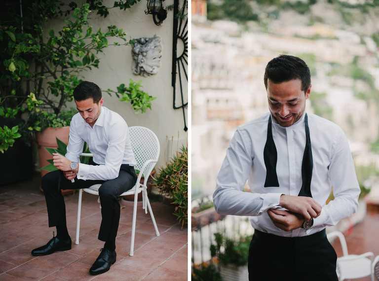Destination wedding photographer in Positano