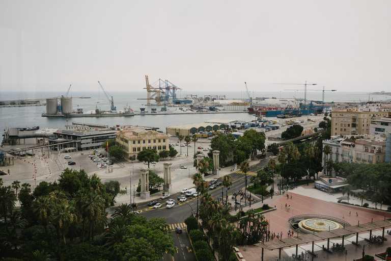 Destination wedding in Malaga