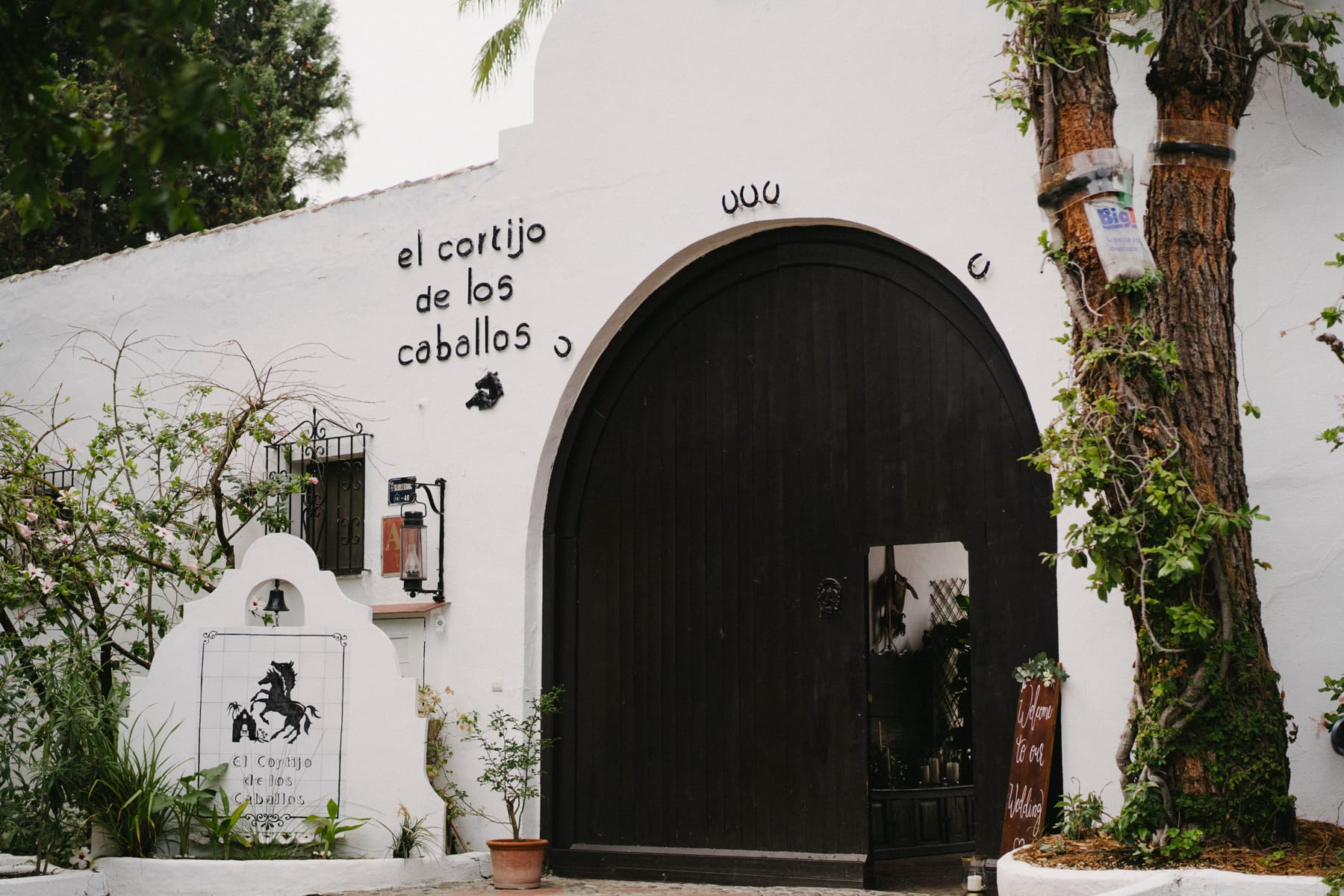 Wedding at Cortijo de los Caballos in Andalusia