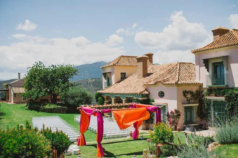 Indian wedding at Finca Llanos de Belvis in Marbella