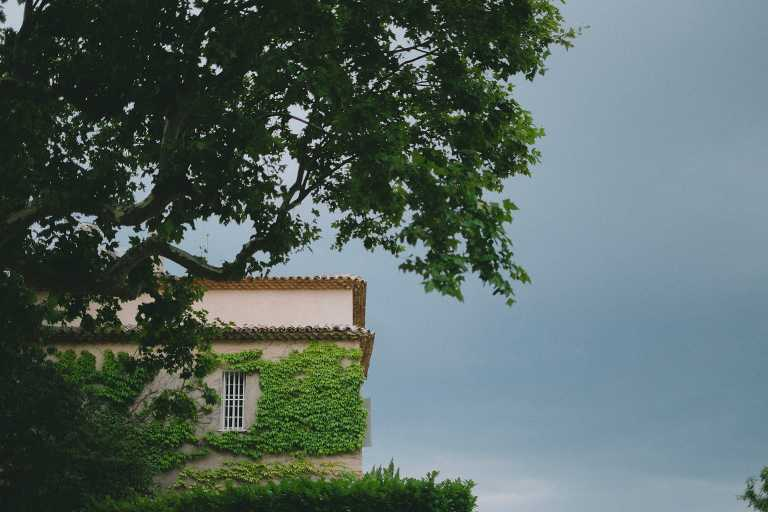 Rural wedding at Chateau Grand Boise in Provence, France
