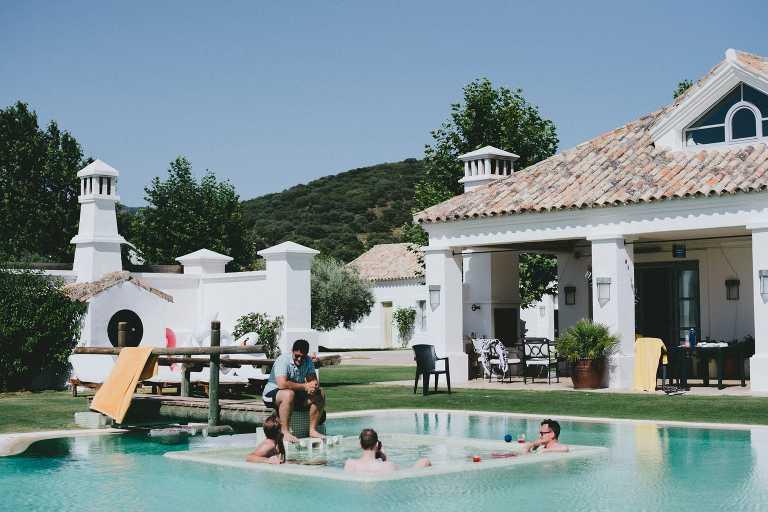 Intimate wedding in a Villa in Ronda