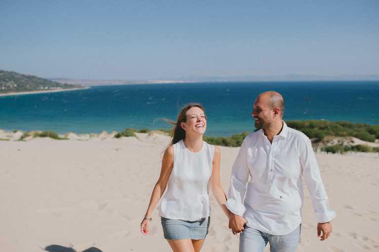 Engagement in Tarifa, Cadiz